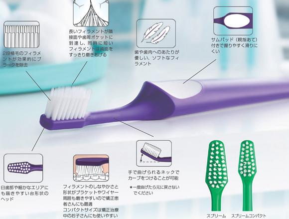 ハミガキライフ1番人気の歯ブラシ「スプリーム」と「スプリームコンパクト」の使い分けについて!
